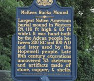 McKees Rocks Indian Burial Ground