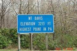 Mt Davis, Pennsylvania