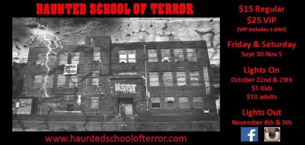 Haunted School of Terror, Weirton, WV