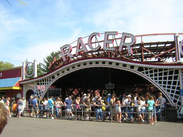 The Racer at Kennywood Park