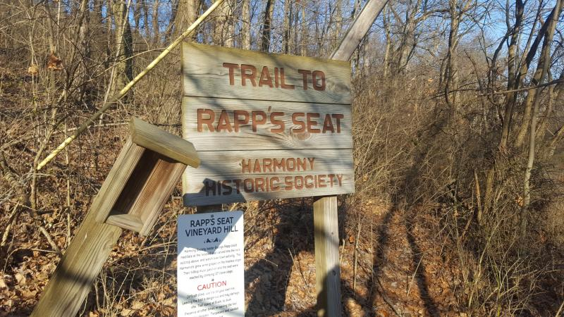 Father Rapp's Trail Entrance