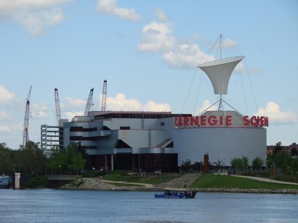 The Carnegie Science Center is one of many things to do in Pittsburgh