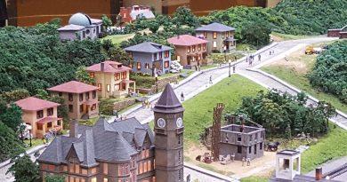 Donora miniature railroad
